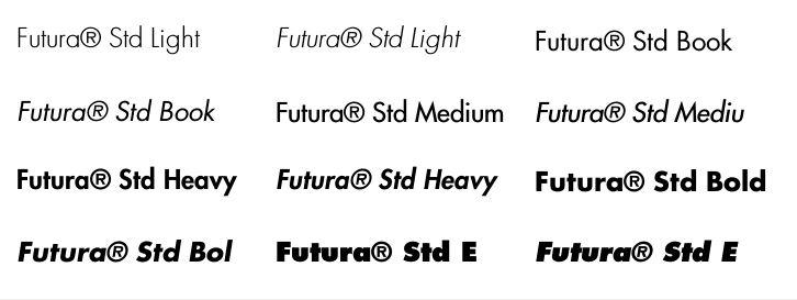 Linotype Library 製品表